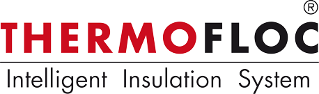 Thermofloc, thermal insulation with system